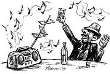 Mobilni na sto, pa slušaj muziku!