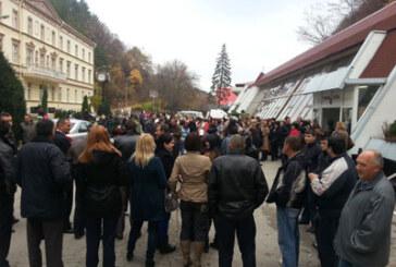 Protest u Ribarskoj Banji