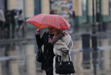 Kiša i vetar u novembru