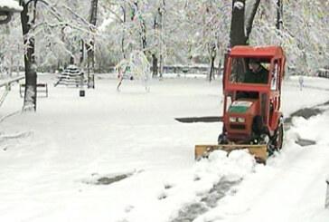 Kruševljane nije iznenadio sneg