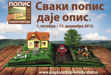 Popis poljoprivrede na teritoriji grada Kruševca