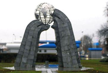 Pokušaj krađe Spomenika mira
