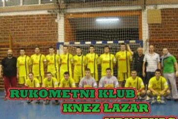 Rukometaši kruševačkog Knez Lazara na turniru u Mađarskoj
