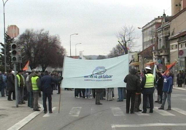 Radnici 14.oktobra radikalizovali proteste