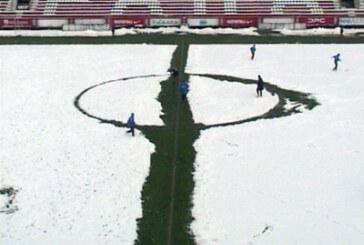 Sneg uštopovao loptu