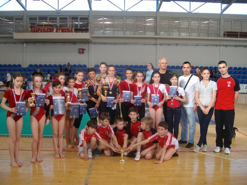 17 medalja za mlade gimnastičare