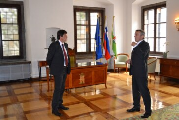 Gradonačelnik Ljubljane priredio prijem za gradonačelnika Kruševca