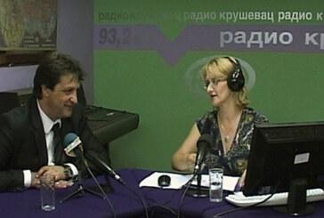 Gradonačelnik na Radio Kruševcu: Grad se sređuje zato što građani to zaslužuju (video)