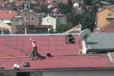 Rekonstrukcija drugog dela krova zgrade KCK