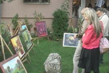Jasika: Likovna kolonija u dvorištu porodične kuće (VIDEO)