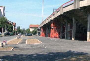 "Završen parking oko stadiona ""Mladost"" (video)"