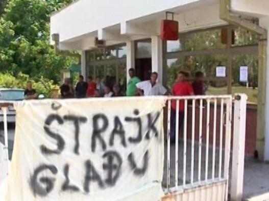 """Štrajk glađu radnika """"Župe"""""""