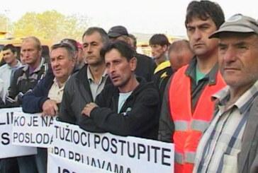 Protesna šetnja radnika Kruševacputa (VIDEO)