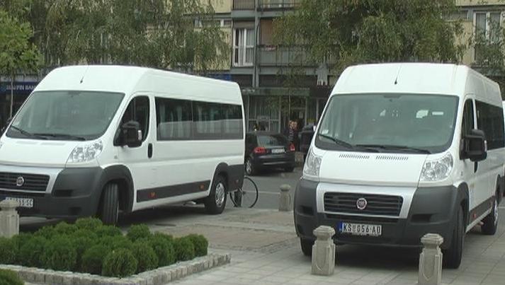 Korporacija Trajal poklonila dva minibusa Gradu Kruševcu (VIDEO)