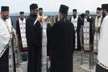 Episkop David položio Povelju u temelj Hrama na Bagdali (VIDEO)