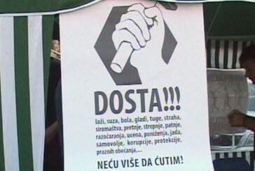"""Sindikat Nezavisnost: Kampanja """"Dosta"""" i u Kruševcu (VIDEO)"""