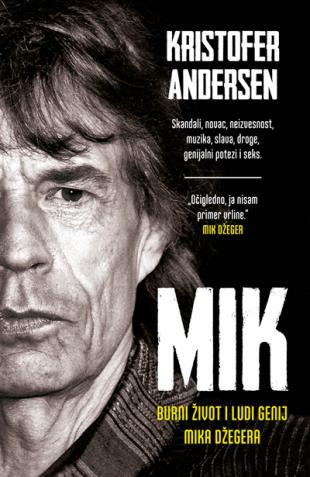RTK i Laguna poklanjaju najnoviju knjigu o Miku Džegeru!