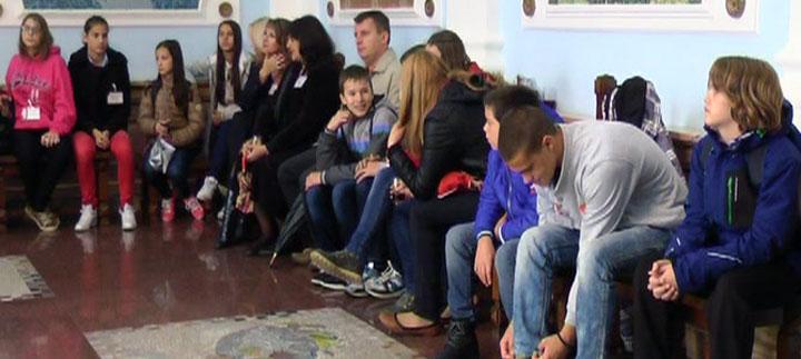 Prijem za Ukrajince, goste Dečijeg festivala (VIDEO)