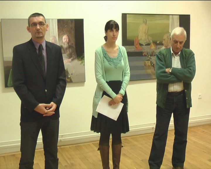 Izložba slika Milana Miletića u Narodnom muzeju