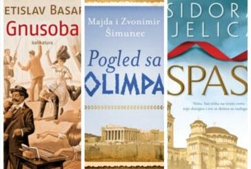 "Knjige nedelje: ""Spas"" Isidore Bjelice i ""Gnusoba"" Svetislava Basare"