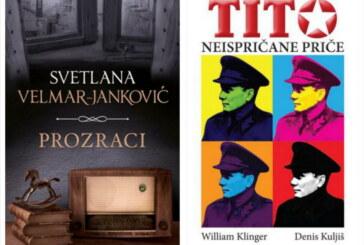 """Knjige nedelje: """"Prozraci"""" Svetlane Velmar-Janković i """"Tito – Neispričane priče"""""""