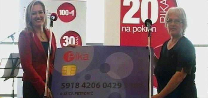 U Roda centru uručena 300 hiljadita PIKA kartica u Srbiji (VIDEO)