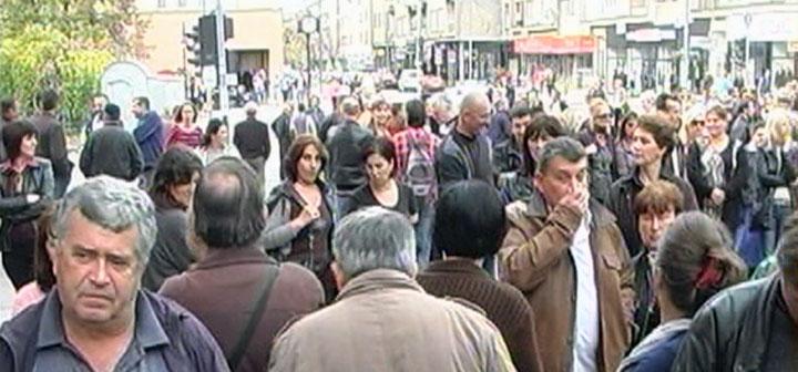 Protestna šetnja centralnim gradskim ulicama