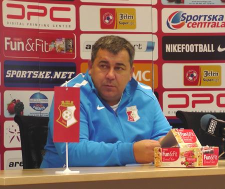 Nenad Milovanović: Čeka nas teška utakmica u Novom Sadu