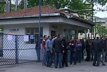 Radnici Fabrike jestivog ulja protestvovali u krugu preduzeća