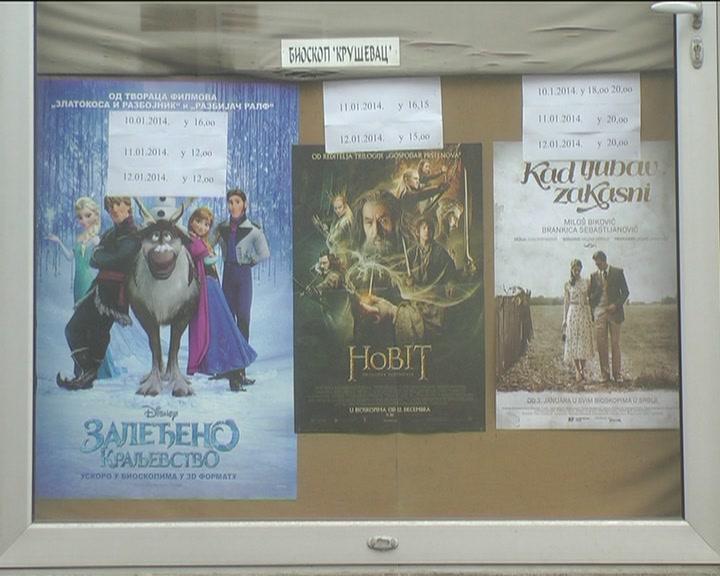 Bioskop Kruševac: Januar – mesec hitova