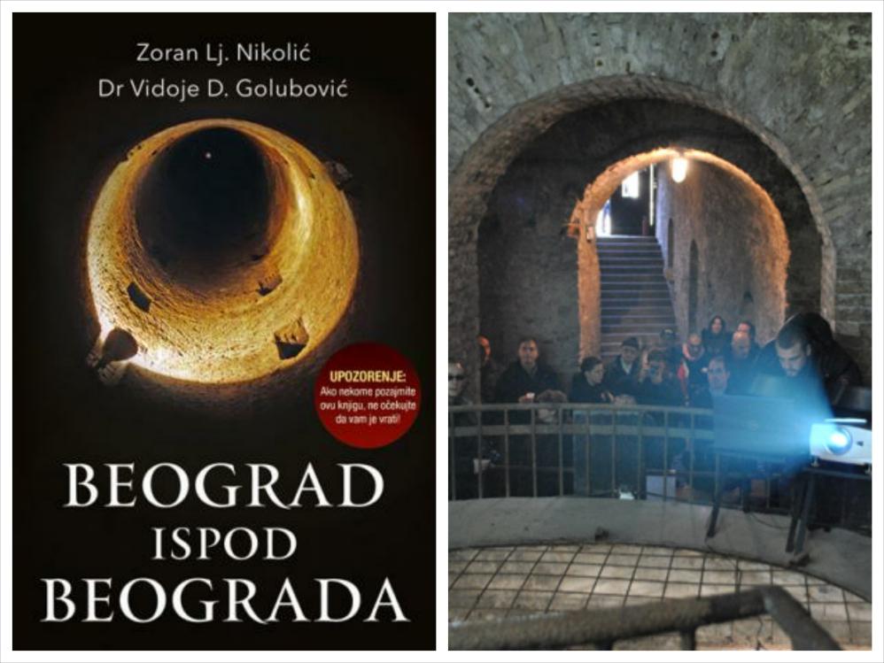 """RTK i Laguna vam poklanjaju hit knjigu """"Beograd ispod Beograda"""""""