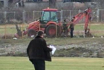 Radovi na terenu Novog Jakšinog igrališta (VIDEO)