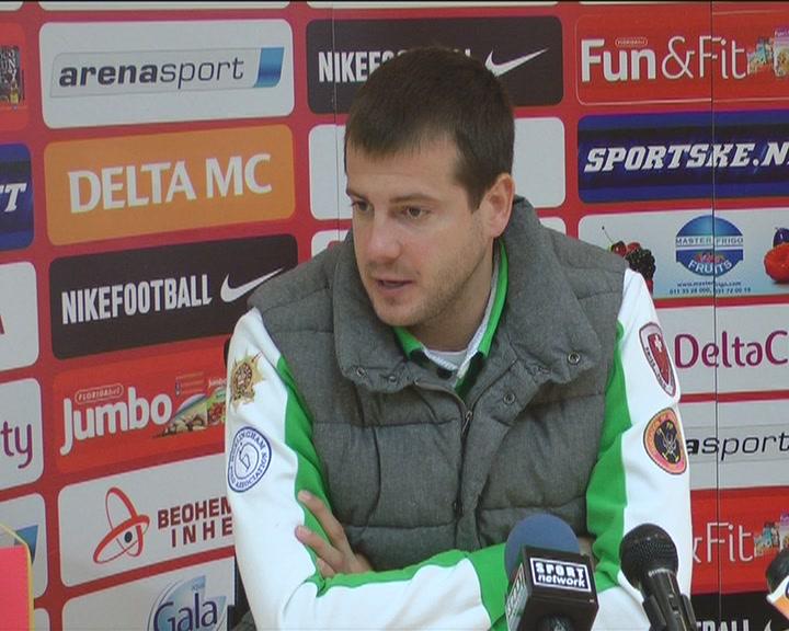 Lalatović očekuje pozitivan ishod utakmice u Nišu (VIDEO)
