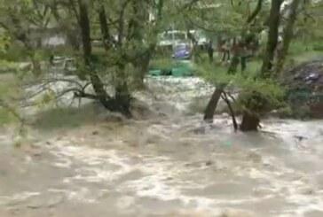 Padavine prouzrokovale izlivanja Rasine i pritoka, službe na terenu (VIDEO)