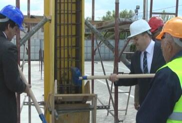 Kamen temeljac za magacinsku halu preduzeća VIVA 92 (VIDEO)