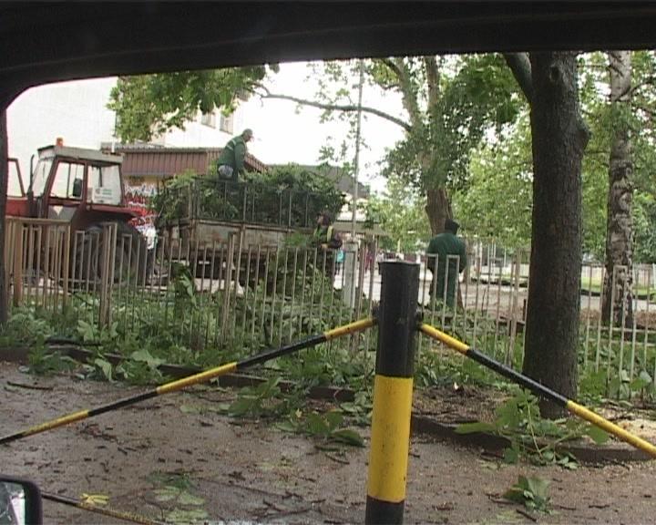 Gradski štab za vanredne situacije o posledicama nevremena
