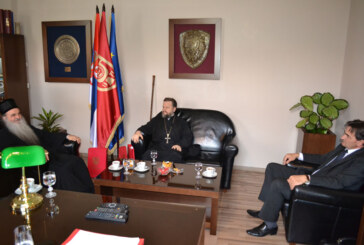 Gradonačelnik Nestorović priredio prijem za vladiku Davida