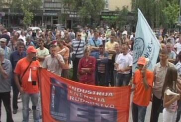 "Radnici ""14. oktobra"" nastavili protest"