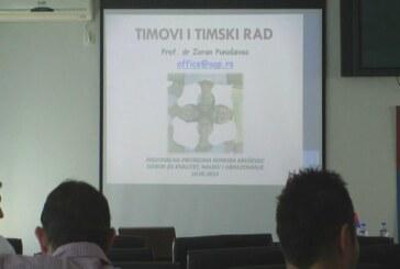 """Održan seminar """"Tim i timski rad"""" (VIDEO)"""