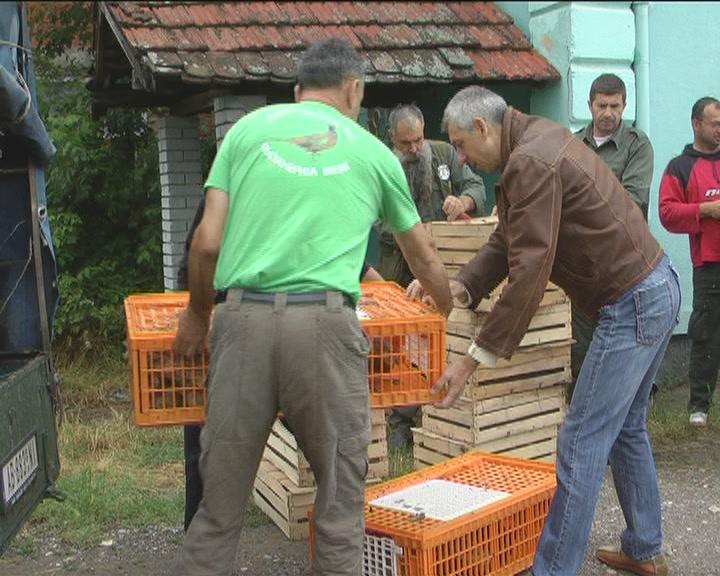 Poklon kruševačkim lovcima od niških kolega (VIDEO)