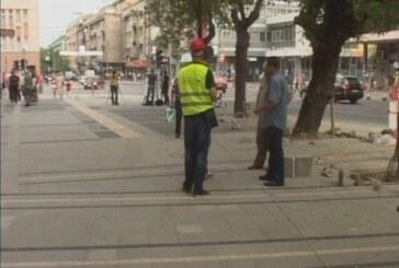 Gradonačelnik obišao radove na rekonstrukciji trotoara (VIDEO)