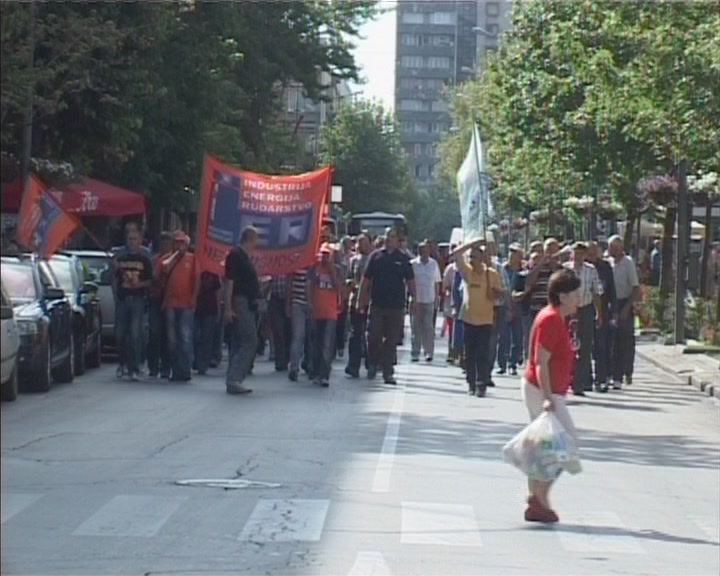 Radnici 14. oktobra nastavljaju sa protestima