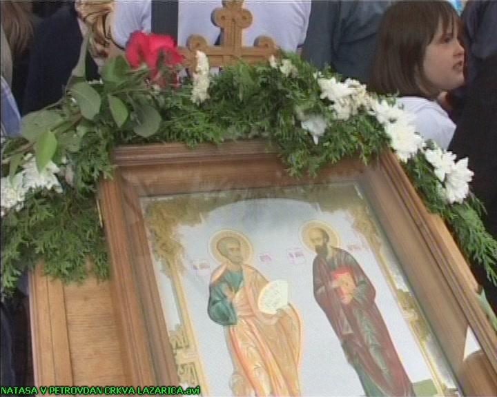 Sutra je Petrovdan,praznik posvećensvetim apostolima Petru i Pavlu
