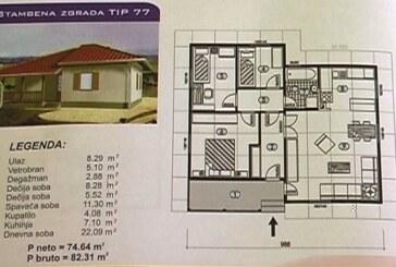 Izgradnja i adaptacija kuća u Obrežu (VIDEO)