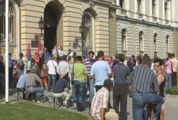 """Protesti radnika """"14. oktobra"""" do ispunjenja svih zahteva"""