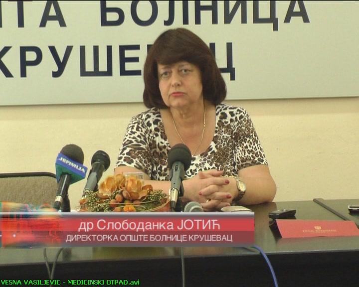 Direktorka Opšte bolnice Kruševac: Sekundarne sirovine a ne medicinski otpad (VIDEO)