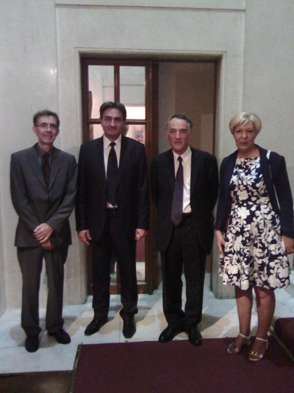 Prijem u Ambasadi Francuske