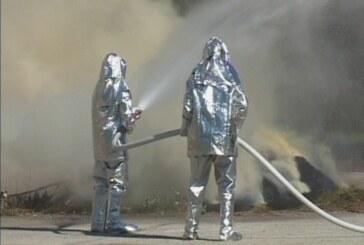 Zajednička vežba gašenja požara (VIDEO)