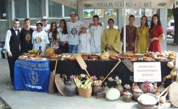Na Etno festivalu u Varvarinu tri prva mesta za učenike Hemijsko-tehnološke škole