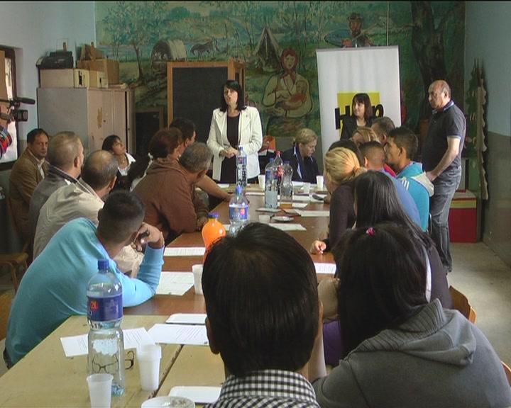 Radionice o mogućnostima zapošljavanja za mlade i nezaposlene Romkinje